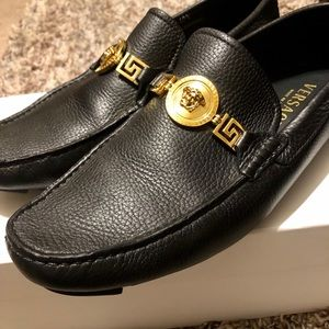 Mens Authentic Versace loafers